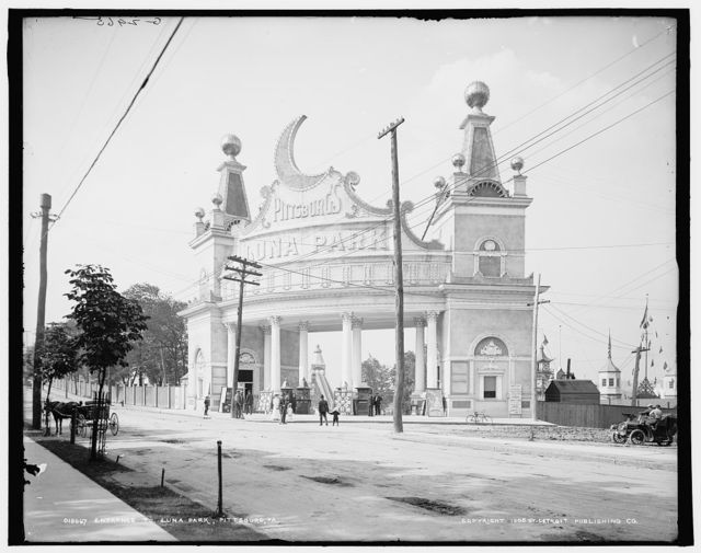 Entrance to Luna Park, Pittsburg, Pa.