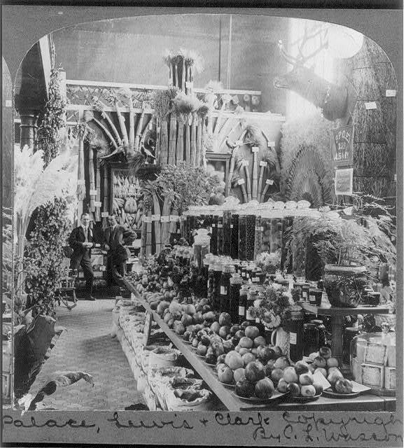 Exhibit of Linn Co., Ore. - Agriculture Palace, Lewis & Clark Exposition, Portland, Ore.