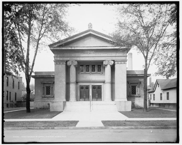 First Church of Christ Scientist, Detroit, Mich.