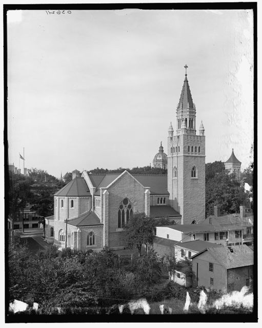 [First Church of Christ, Scientist, rear view, Concord, N.H.]