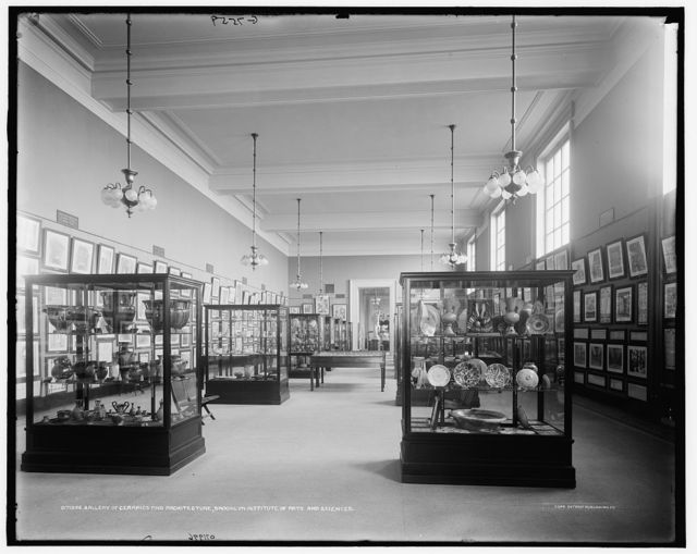 Gallery of ceramics and architecture, Brooklyn Institute of Arts and Sciences [Brooklyn Museum]