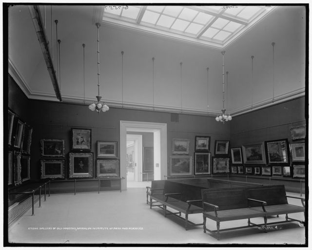 Gallery of old masters, Brooklyn Institute of Arts and Sciences [Brooklyn Museum]