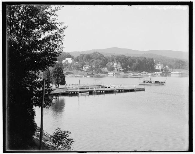 [Glens Falls Club, Lake George, N.Y.]