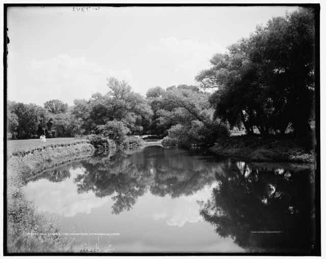 Golf links by the Housatonic, Stockbridge, Mass.