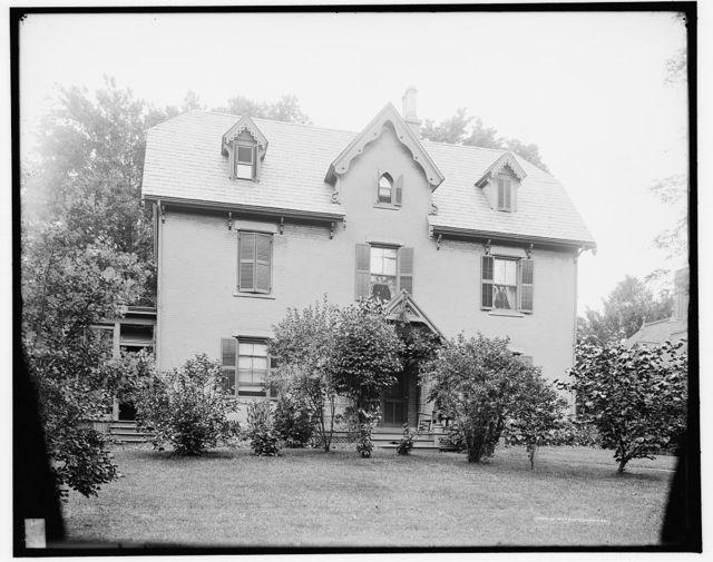 Harriet Beecher Stowe's residence, Hartford, Ct.