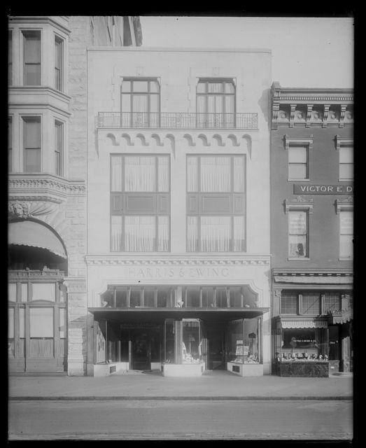 Harris & Ewing, exterior, new studio