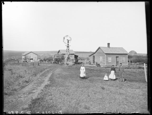 H.E. Hartman farm near Sartoria, Buffalo County, Nebraska