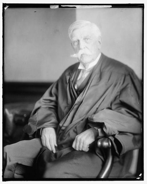 HOLMES, OLIVER W. JUSTICE