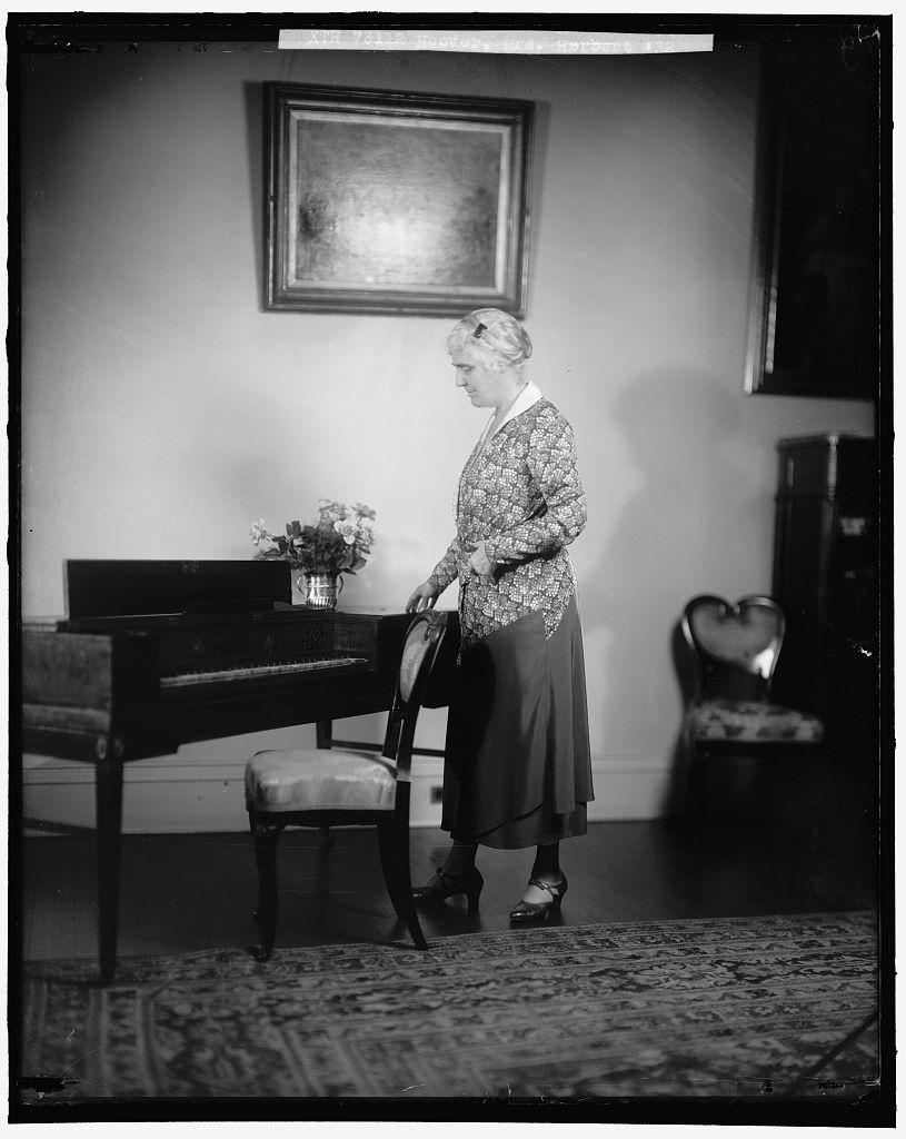 HOOVER, HERBERT C., MRS.