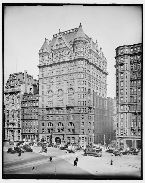 [Hotel Netherland, New York, N.Y.]