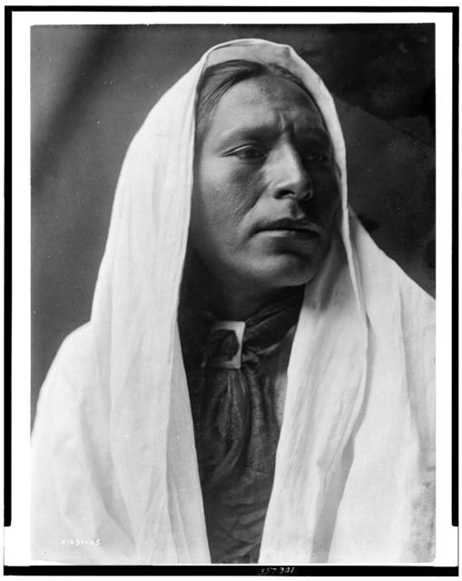 """[Iahla, """"Willow"""", Taos, head-and-shoulders portrait, facing right]"""