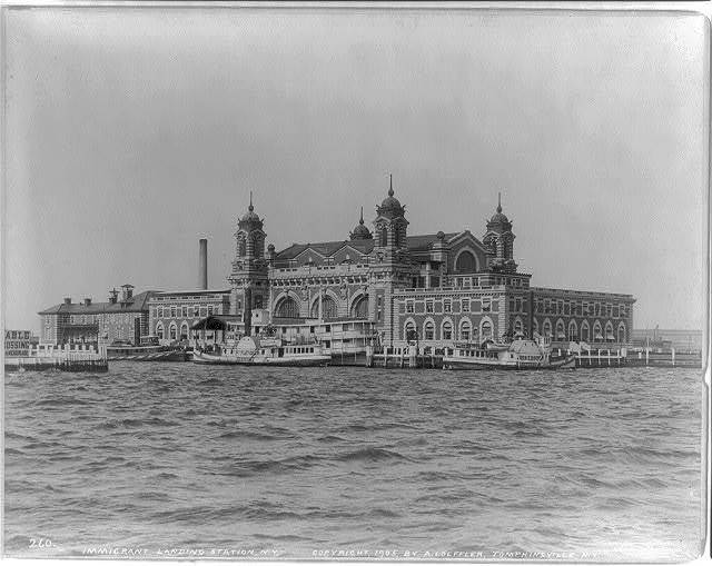 Immigrant Landing Station, N.Y.