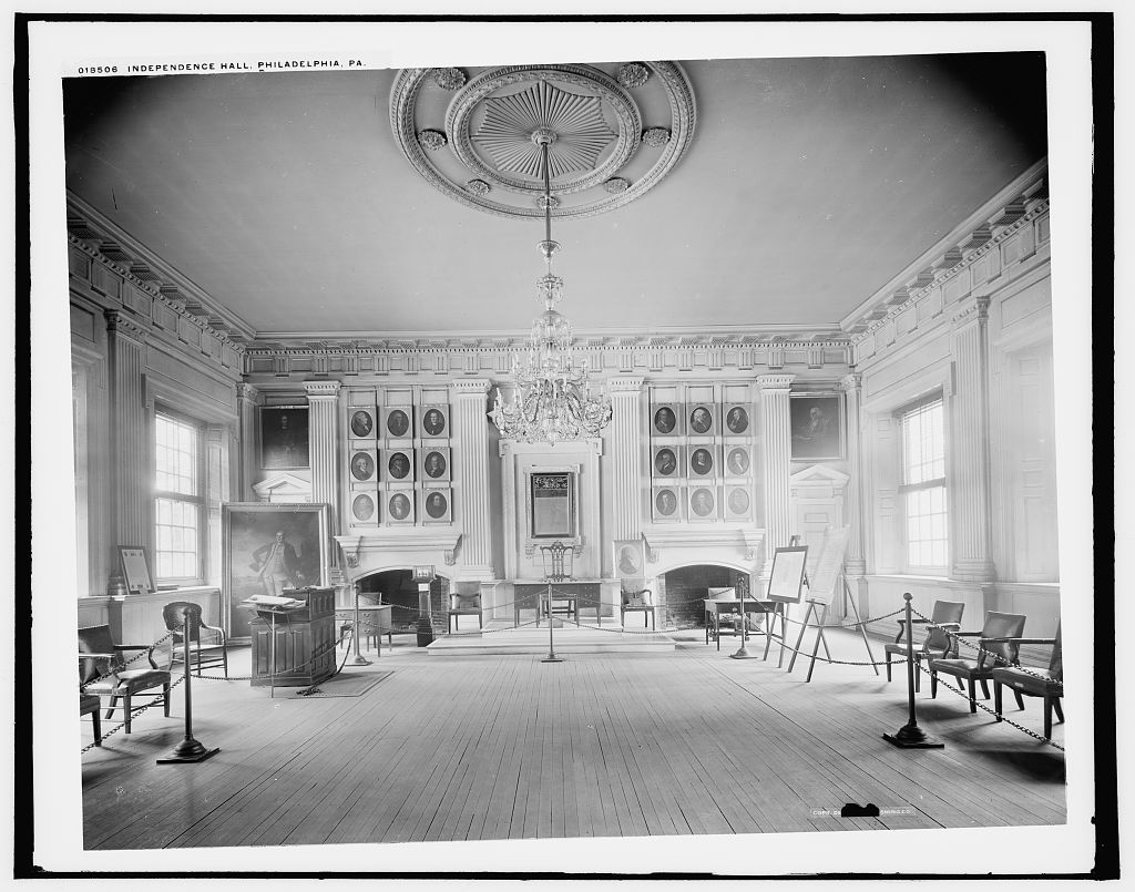 Independence Hall [Assembly Room], Philadelphia, Pa.