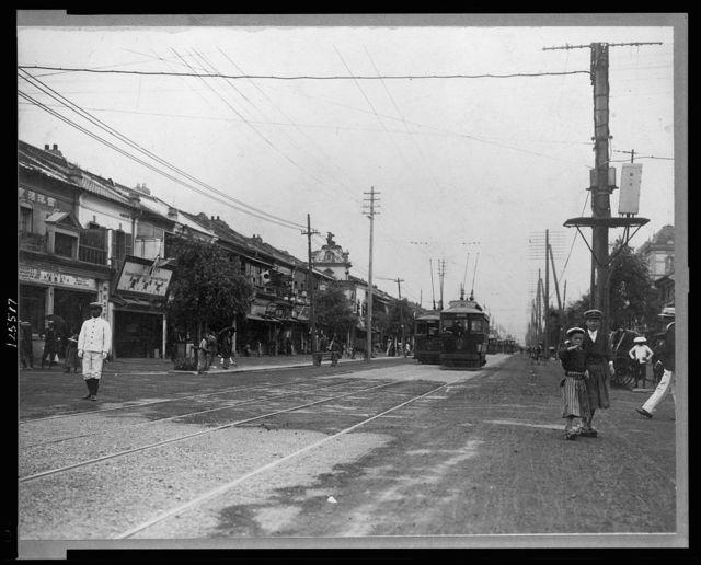 Japan, Tokio [sic], street scenes
