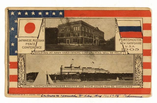 Japanese Russian Peace Conference, Portsmouth, New Hampshire, U.S.A., 1905