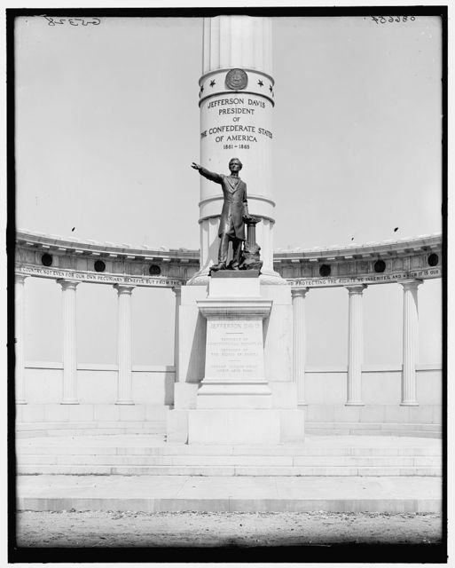 [Jefferson Davis Memorial (detail), Richmond, Va.]