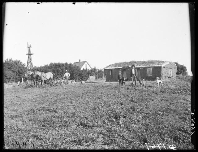 John A. Edminstein farm, Lomax, Custer County, Nebraska.