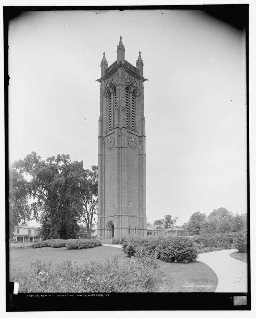 Kenney [i.e. Keney] Memorial Tower, Hartford, Ct.