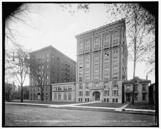 Lennox [sic] and Madison Apartments, Detroit, Mich., The
