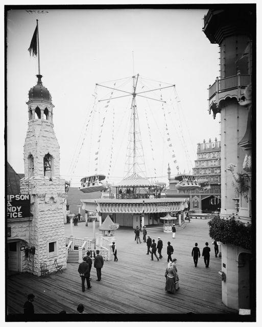 [Luna Park, circle swing, Coney Island, N.Y.]