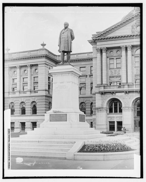 McKinley statue, Toledo, O[hio]