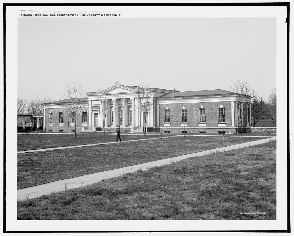 Mechanical laboratory, University of Virginia