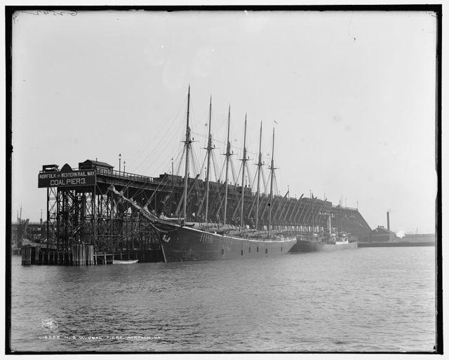 N. & W. coal piers, Norfolk, Va.