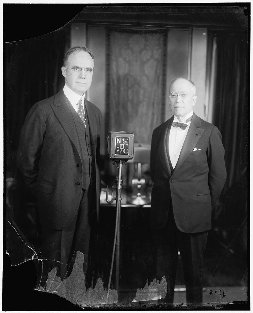 NBC. Sen. Howell of Nebraska and Rep. Jos. M. Beck of Pa.