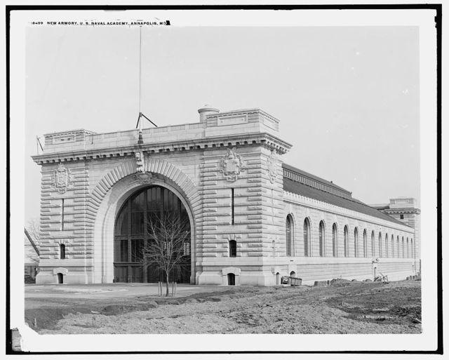 New armory, U.S. Naval Academy