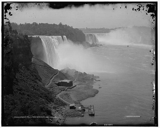 Niagara Falls, from International Bridge
