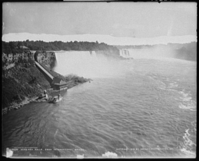 Niagara Falls from International Bridge
