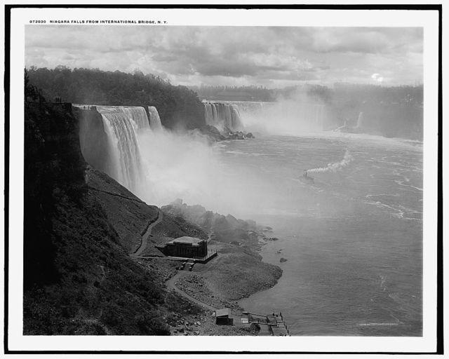 Niagara Falls, from International Bridge, N.Y.