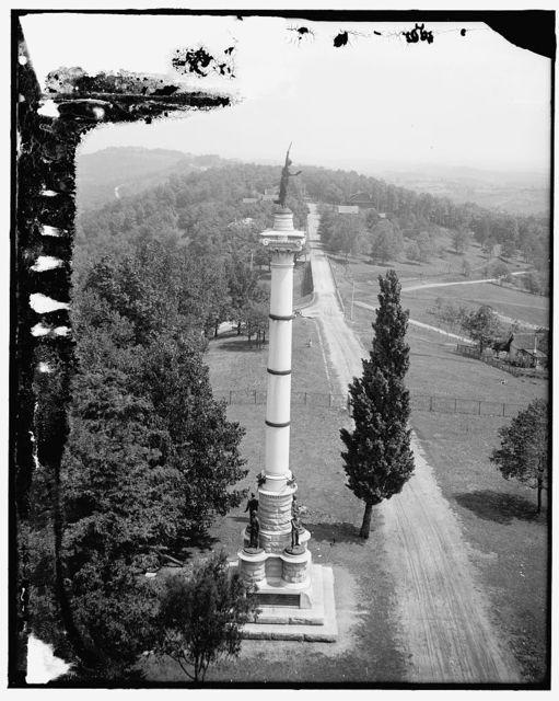 [North from Gen. Bragg's headquarters, Missionary Ridge, Tenn.]