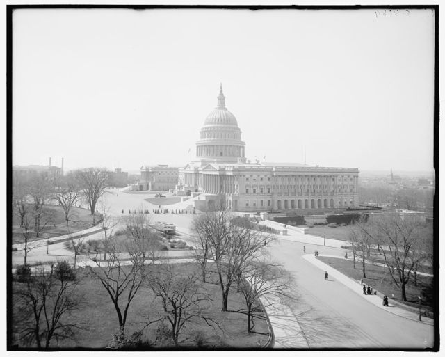 [North view of United States Capitol, Washington, D.C.]