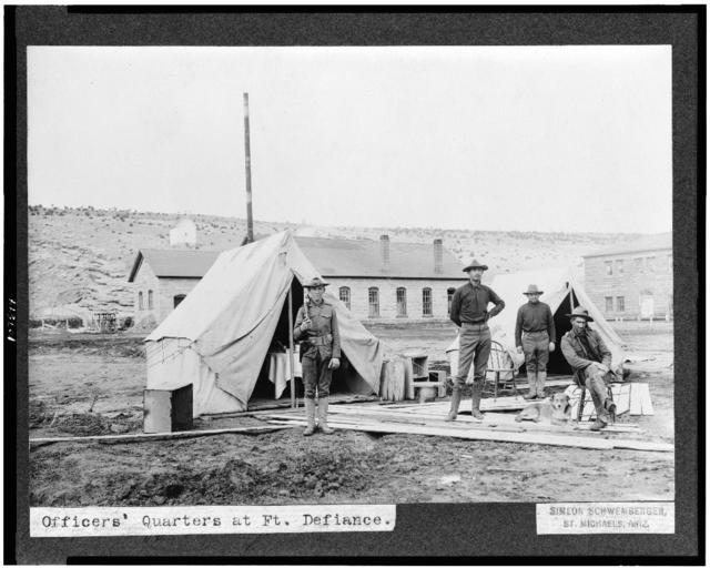 Officers' quarters at Ft. Defiance / Simeon Schwemberger, St. Michaels, Ariz.