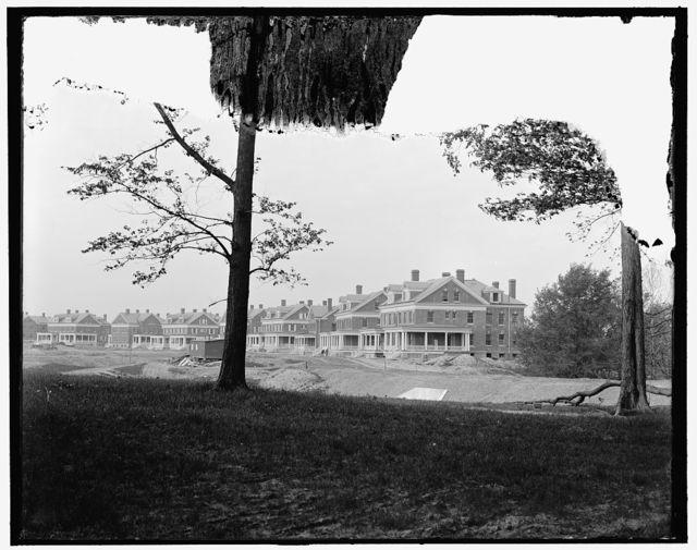 [Officers' Row, Fort Benj. Harrison, Ind.]