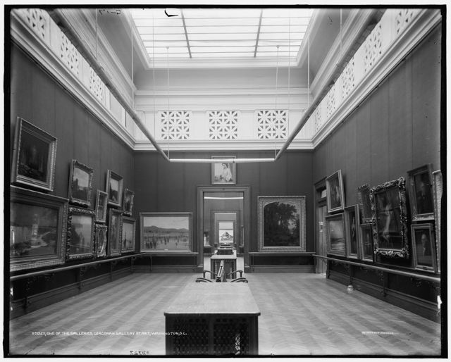 One of the galleries, Corcoran Gallery of Art, Washington, D.C.