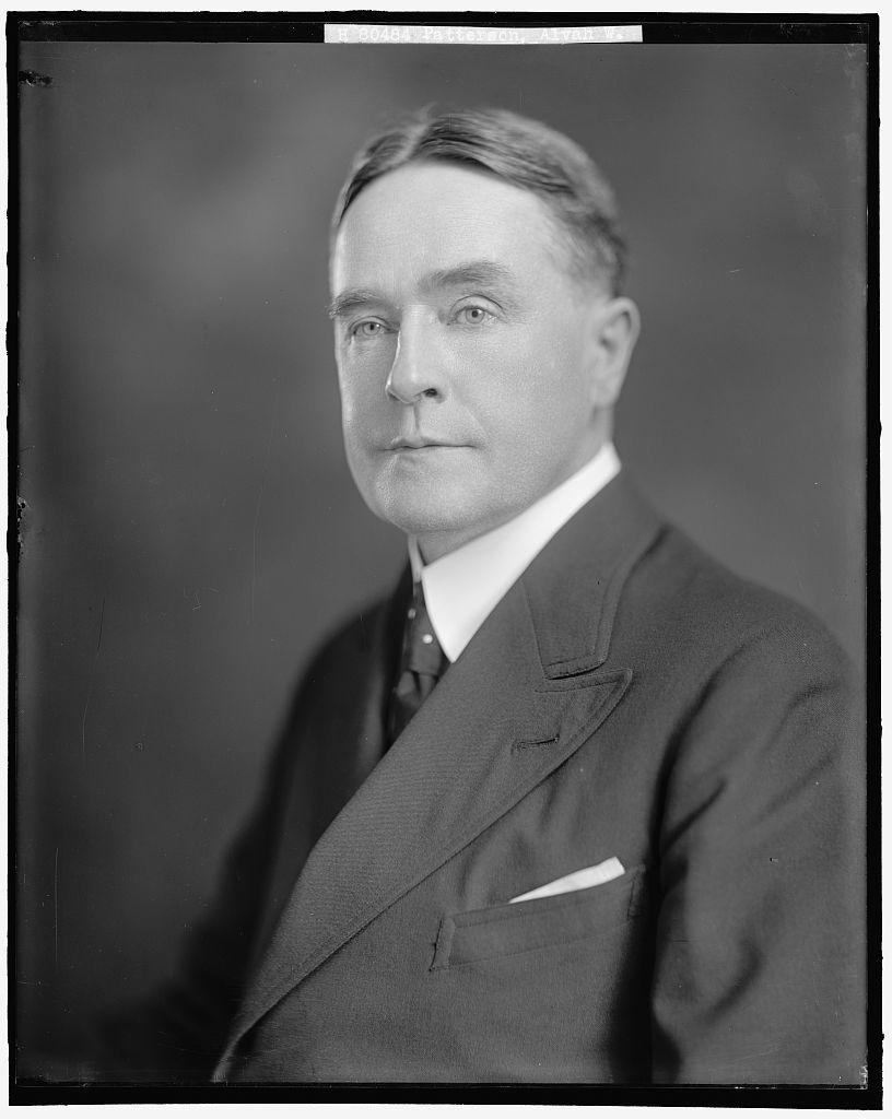 PATTERSON, ALVAH W.