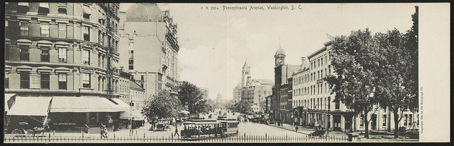 Pennsylvania Avenue, Washington, D.C. / The Rotograph Co.