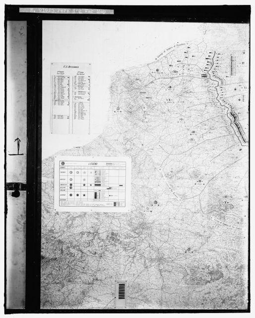 PERSHING WAR MAP