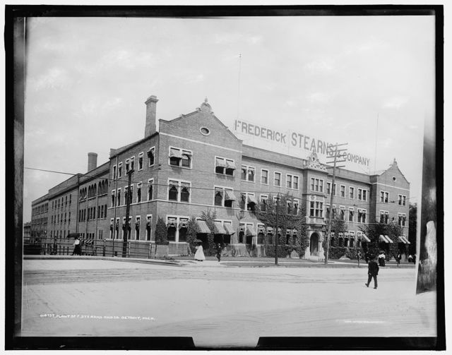 Plant of F. [i.e. Frederick] Stearns and Co., Detroit, Mich.