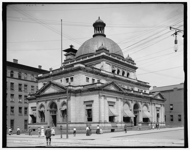 Post Office, Pittsburg, north side, Pa.