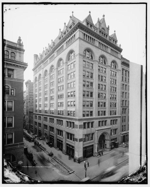 Presbyerian [i.e., Presbyterian] Building, New York, N.Y.