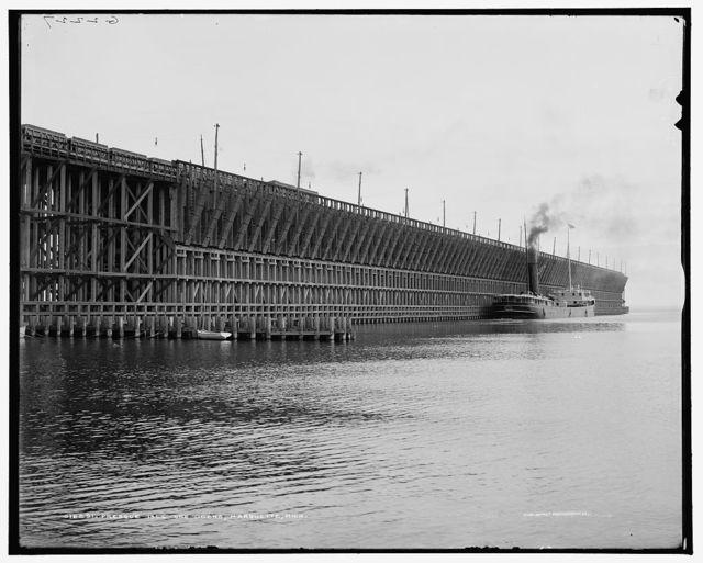 Presque Isle ore docks, Marquette, Mich.