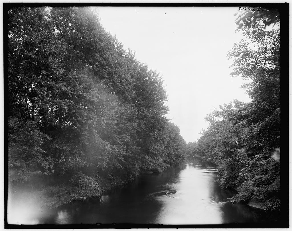 [Red Cedar River, Michigan Agricultural College (Michigan State University), East Lansing, Mich.]