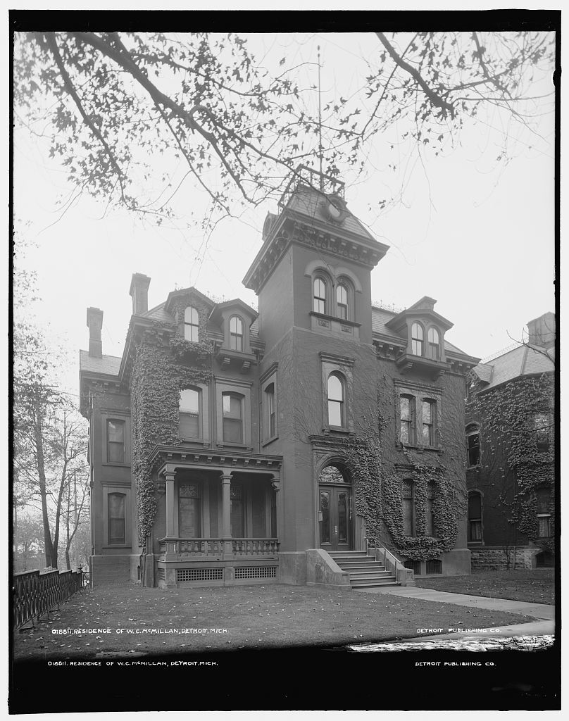 Residence of W.C. McMillan, Detroit, Mich.