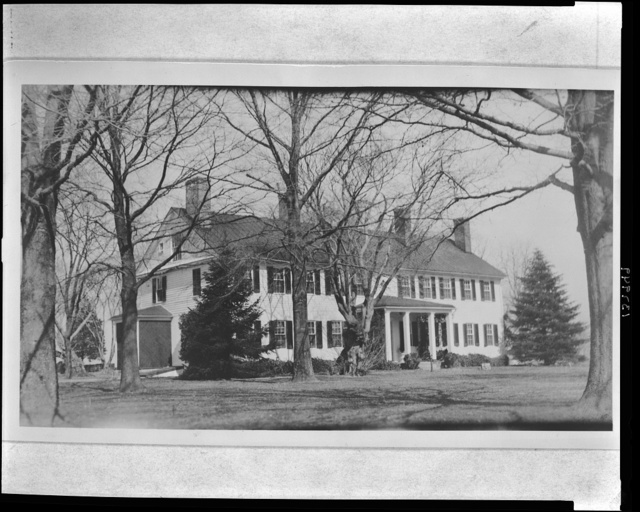 """""""Rosegill,"""" Middlesex County, Va., on the Rappahannock River at Urbanna. View from land side"""