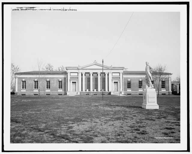 Rouss physical laboratory, University of Virginia