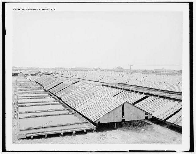 Salt industry, Syracuse, N.Y.