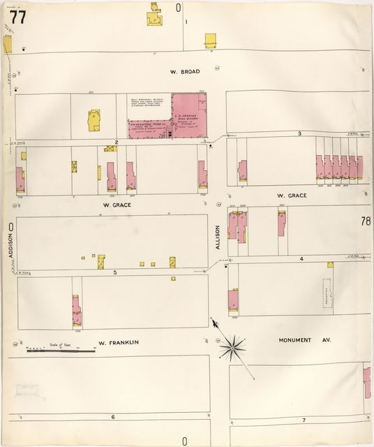 Sanborn Fire Insurance Map from Richmond, Independent Cities, Virginia.